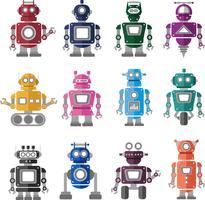 Conjunto de vectores robot