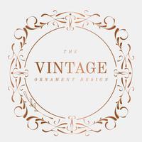 Conception de cadre vintage