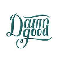 Damn bra typografi design illustration