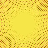 Gelber Steigungshalbtonhintergrundvektor