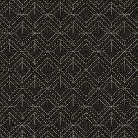 Minimal patrón geométrico negro y dorado.