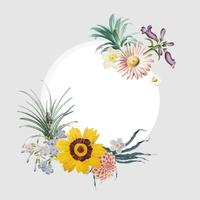 bloemenkader kenteken