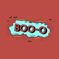 Komisch ontwerp van een woordillustratie