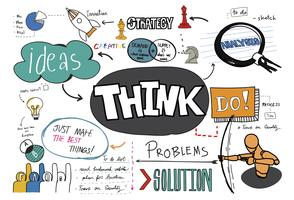 Think sketch vector