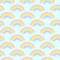 Vecteur de conception de motifs arc-en-ciel sans soudure