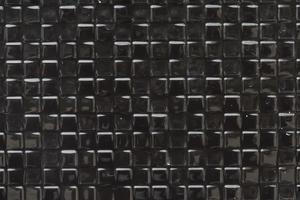 Black small squares textured background vector