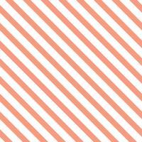 Vector de patrones sin fisuras rayas naranja pastel
