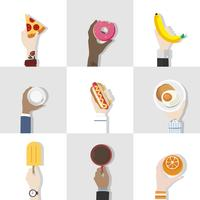 Collection of food vectors