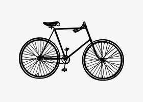 Cykel i vintage stil