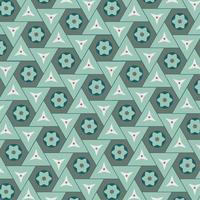 Illustrazione di un motivo geometrico