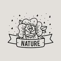Illustrazione del concetto di natura