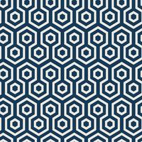 Seamless Japanese pattern with tortoiseshell motif vector
