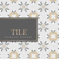 Vintage kitchen tiles