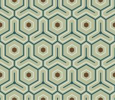Motivo geometrico vintage ispirato a The Grammar of Ornament