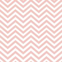 Pastel pink seamless zigzag pattern vector