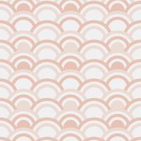Nahtloses Muster von Halbkreisen