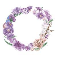 Vintage ornements floraux