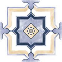 Illustrazione del modello strutturato delle mattonelle