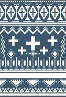 Illustratie van etnisch patroon