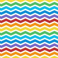 sömlös färgstark zig zag mönster vektor