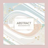 Abstract paint pour background vector set