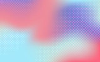 Multicolor gradient halftone background vector