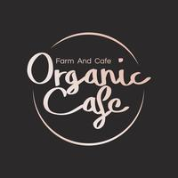 Logo for organic cafes