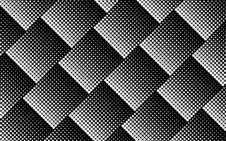 Halftoonontwerp in zwart en wit