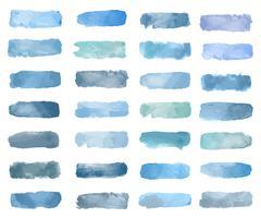 Bunter Aquarellflecken-Hintergrundvektor