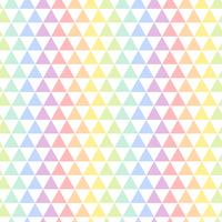 Seamless colorful triangular pattern vector