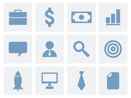 Colección de ilustración de iconos de negocios