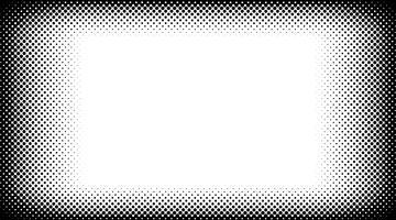 Zwart-witte halftone achtergrondvector
