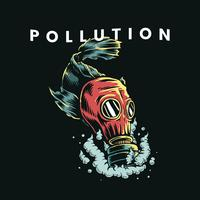 Pollution gas mask