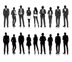 Illustration of business people