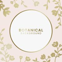 Botanical floral illustration