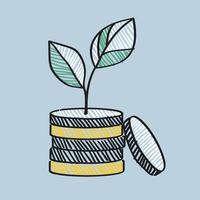 Illustrazione di crescita finanziaria