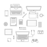 Vector set of digital devices