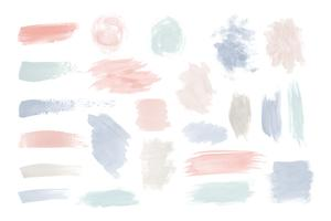 Mixed watercolor set