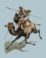 Kamel från Johnsons hushållsbok av naturen (1880) av John Karst (1836-1922). Digitalt förbättrad av rawpixel.