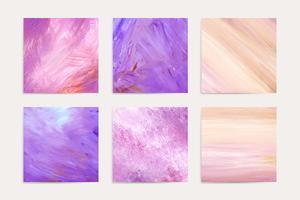 Pintura acrilica rosa