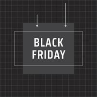 Black Friday-teken