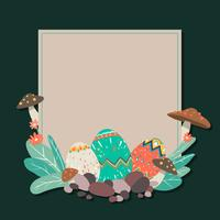 Illustration de la frontière de Pâques