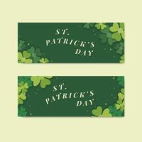 Banner di Saint Patricks day