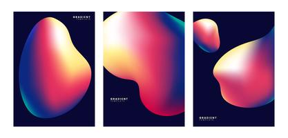 Colorful abstract poster background