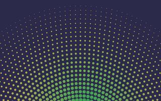Grön gradient halvton bakgrunds vektor