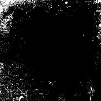 Monochrome grunge distressed texture vector