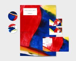 Materiales de marca artísticos.