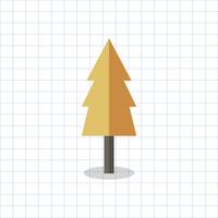 Illustration of a colored geometric tree