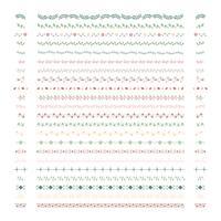Samling av divideringsdesignelementvektorer