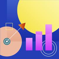 Illustration du graphique de croissance